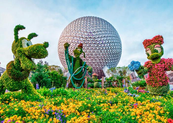 Qual a melhor época para visitar a Disney e Orlando Flower and Garden Festival Epcot