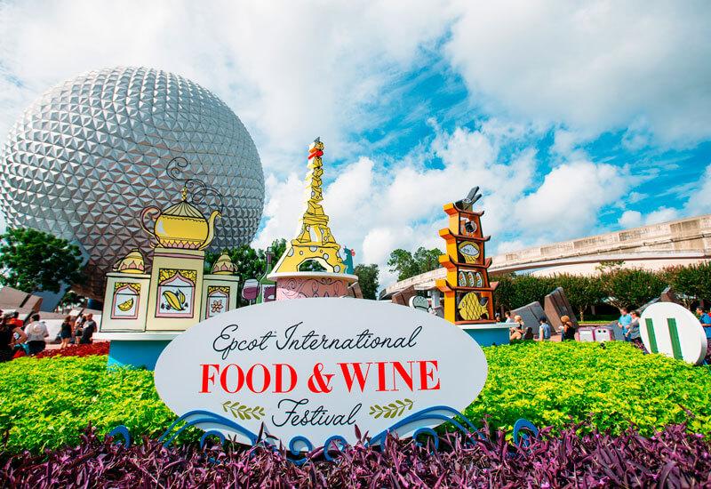 Qual a melhor época para visitar a Disney e Orlando Food and Wine Epcot