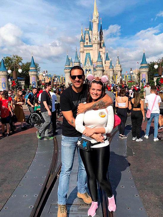 Disney sonho realizado casal