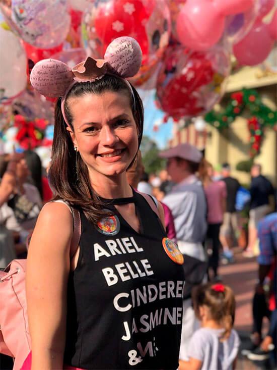 Disney sonho realizado amanda