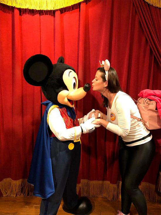 Disney sonho realizado mickey