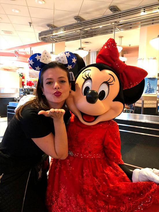 Disney sonho realizado minnie