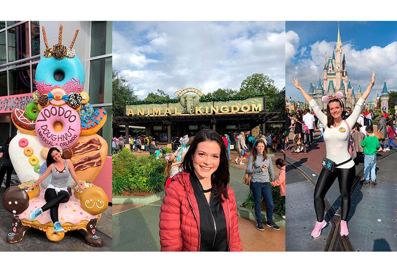 Disney sonho realizado parques