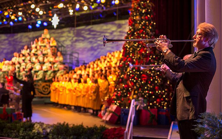 Todas as noites, acontece a tradicional Candlelight Processional. Várias celebridades narram a história do Natal acompanhada por uma orquestra de mais de 50 instrumentos e um grande coral. Os horários das apresentações são: 17h, 18h45 e 20h15