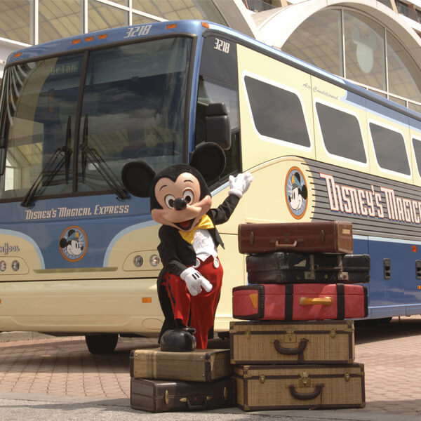benefícios hotéis Disney Disneys Magical Express