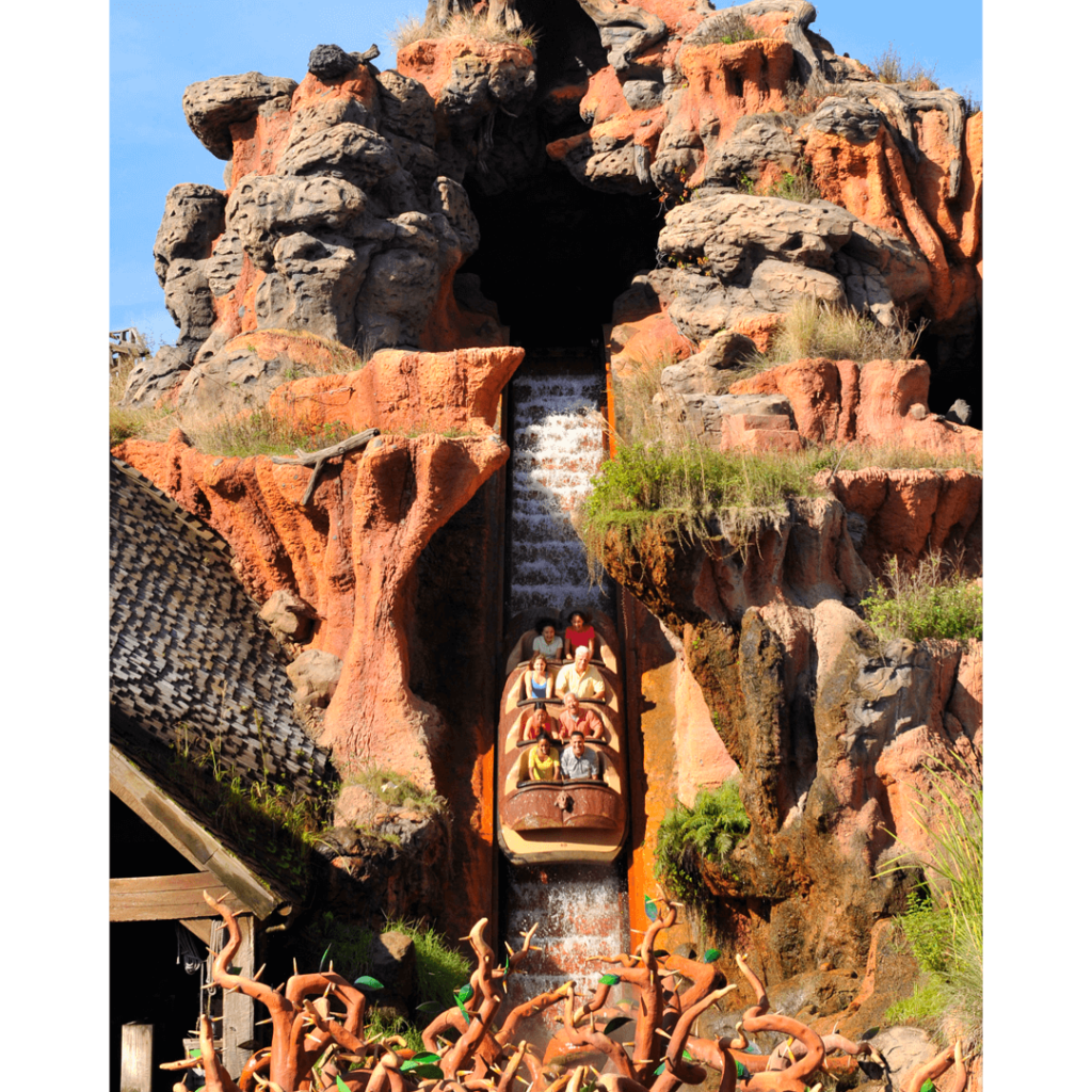 atrações imperdíveis do magic kingdom splash mountain