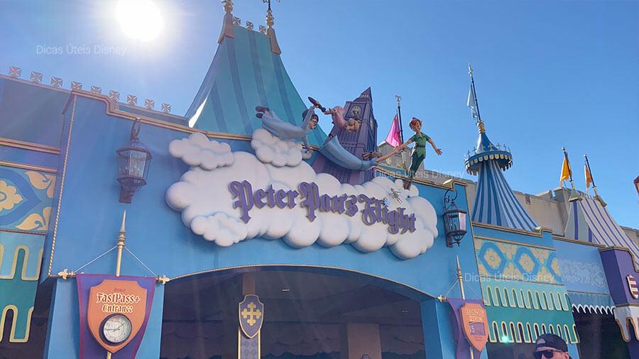 5 melhores atrações do Magic Kingdom. Atração nº4:  Peter Pan's Flight - Magic Kingdom - Foto: Dicas Úteis Disney