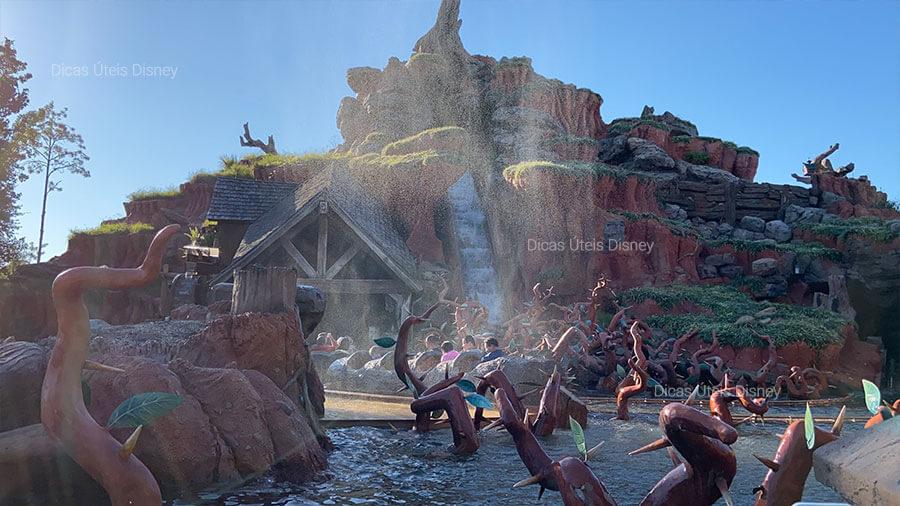 5 melhores atrações do Magic Kingdom. Atração nº5: Splash Mountain - Magic Kingdom - Foto: Dicas Úteis Disney