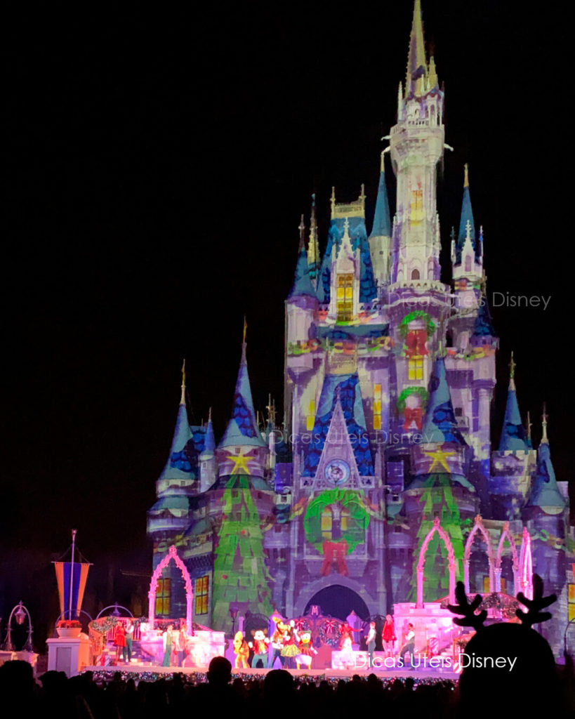 Mudanças na programação do Magic Kingdom Mickeys mos merriest celebration