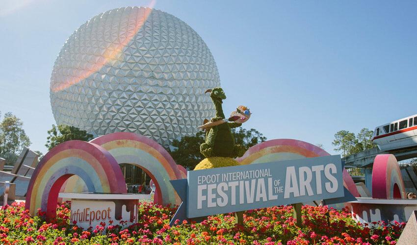 Qual a melhor época para visitar a Disney e Orlando Festival of Arts Epcot