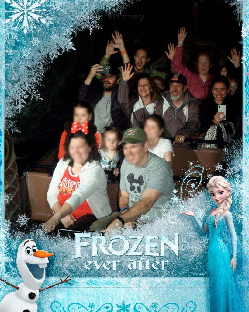 atrações mais concorridas do Epcot frozen ever after