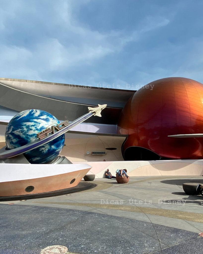 atrações mais concorridas do Epcot mission space