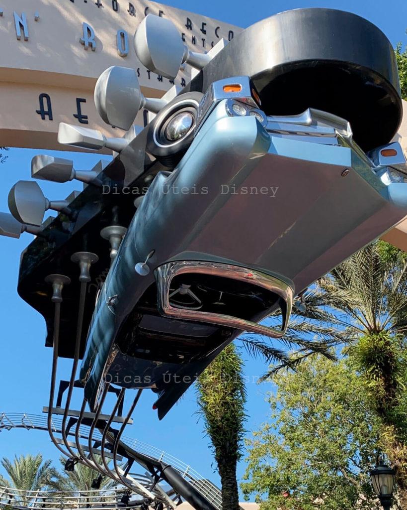 atrações entretenimentos restaurantes reabertura Disney Hollywood Studios Rock and Roller Coaster