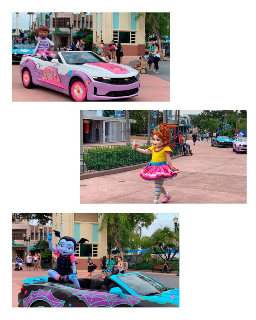 Disney onde ver os personagens Disney Junior Hollywood Studios