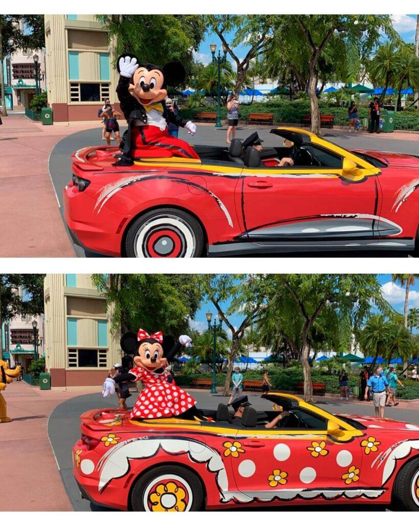 Disney onde ver os personagens Mickey e Minnie Hollywood Studios