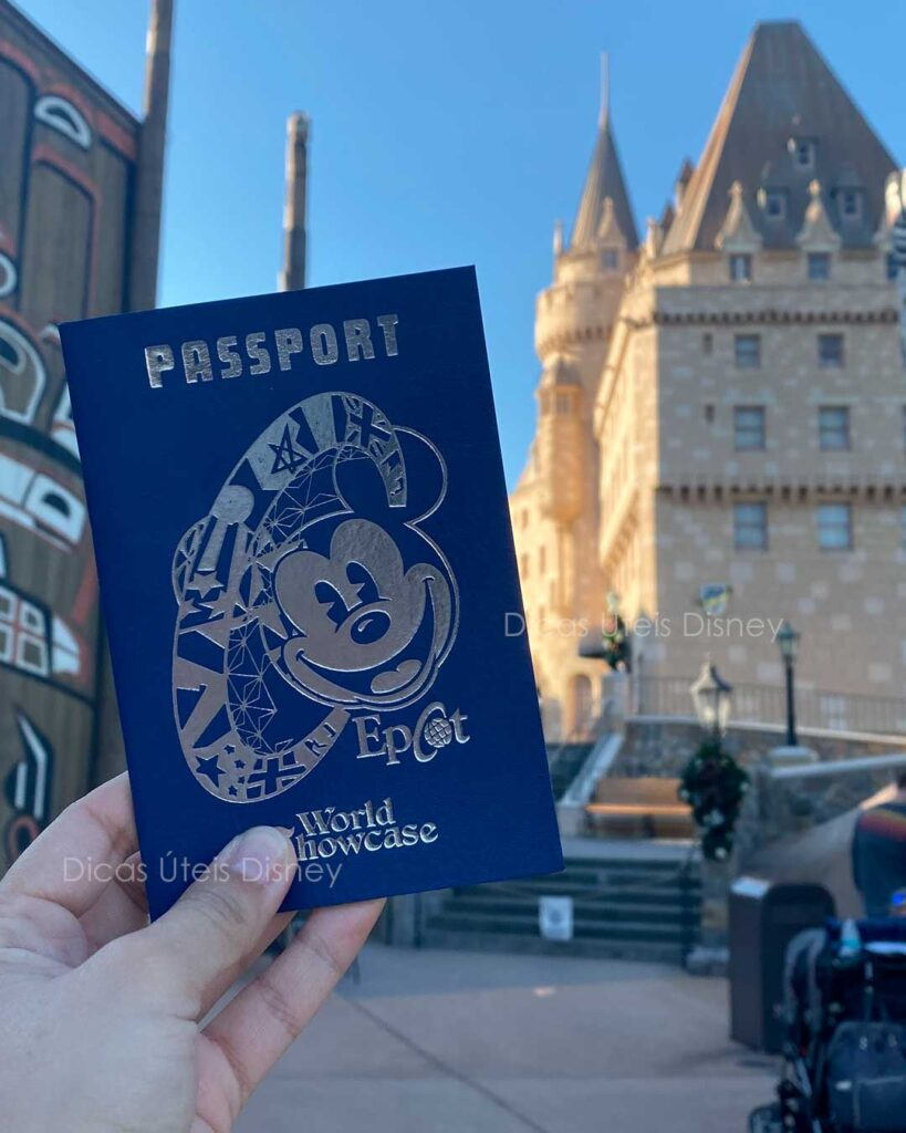 Como é o parque Epcot passaporte
