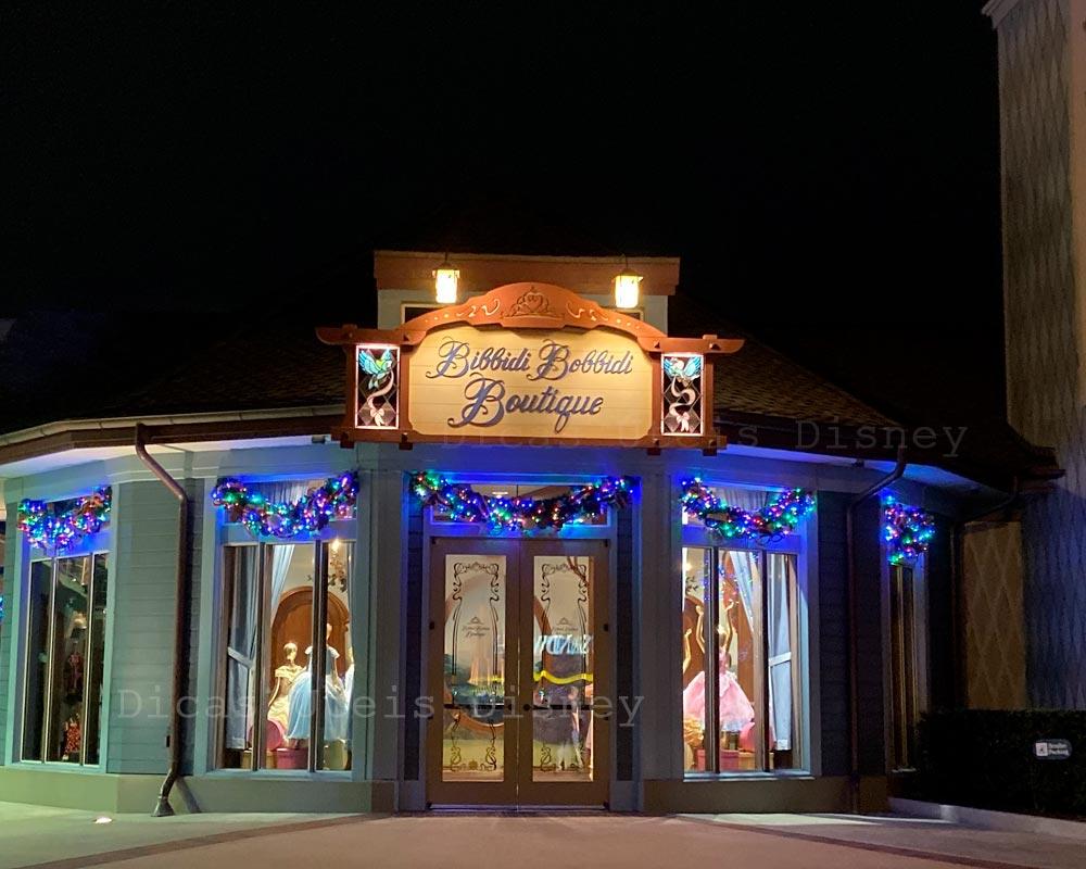 Disney Springs Roteiro Bibbidi Bobbidi Boutique