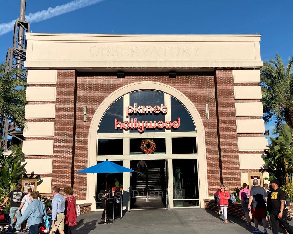 Disney Springs Roteiro Planer Hollywood