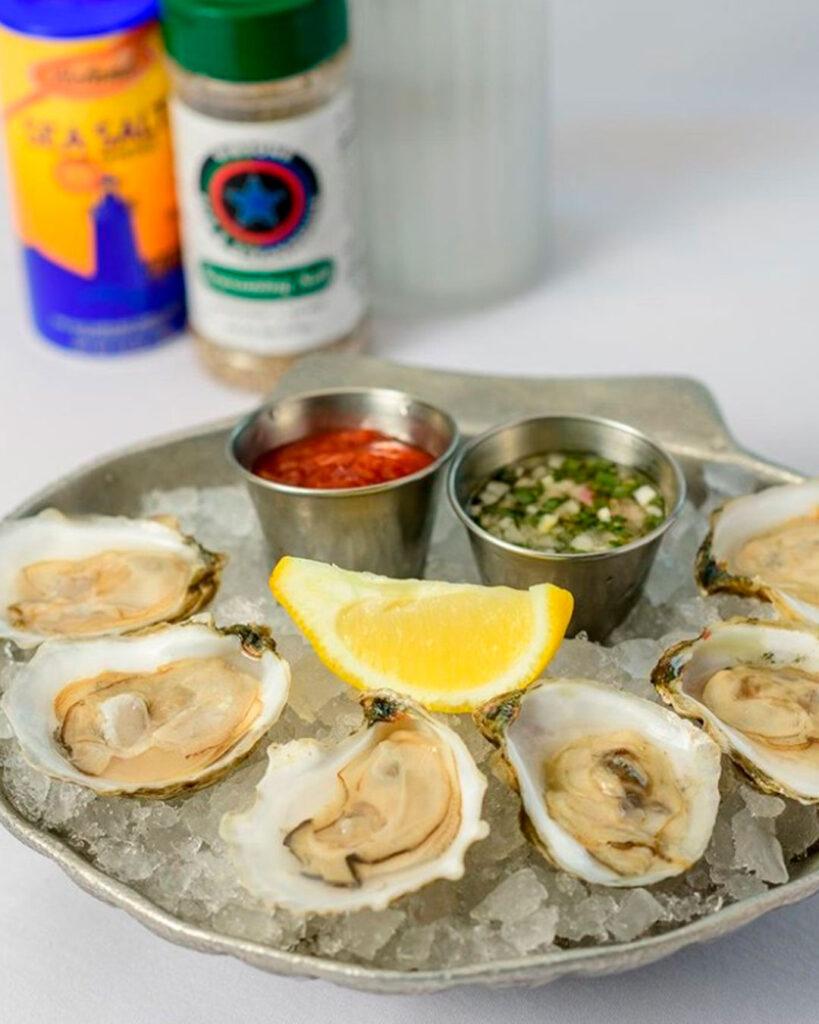 restaurante boathouse disney springs ostras