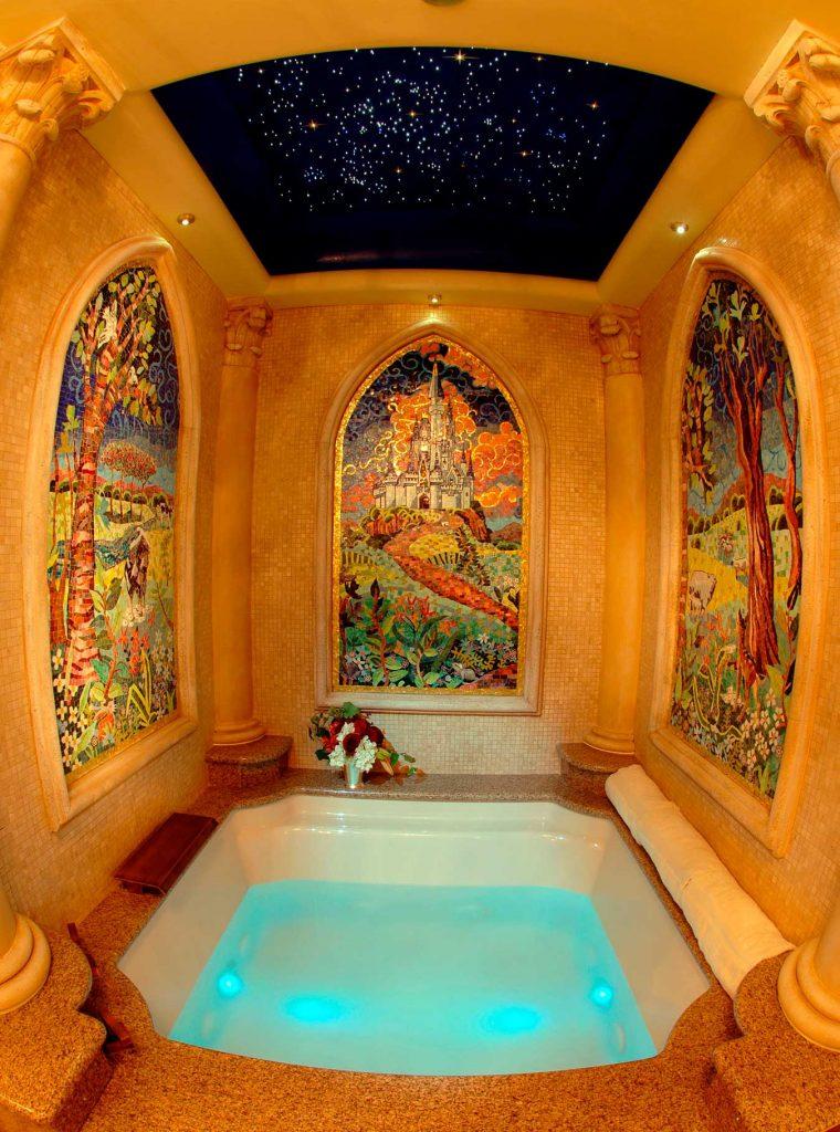 como-e-a-suite-da-cinderela-magic-kingdom-baneiro-dicas-uteis-disney