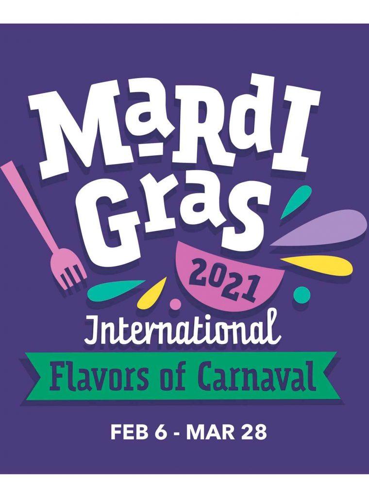 orlando março mardi gras universal studios 2021