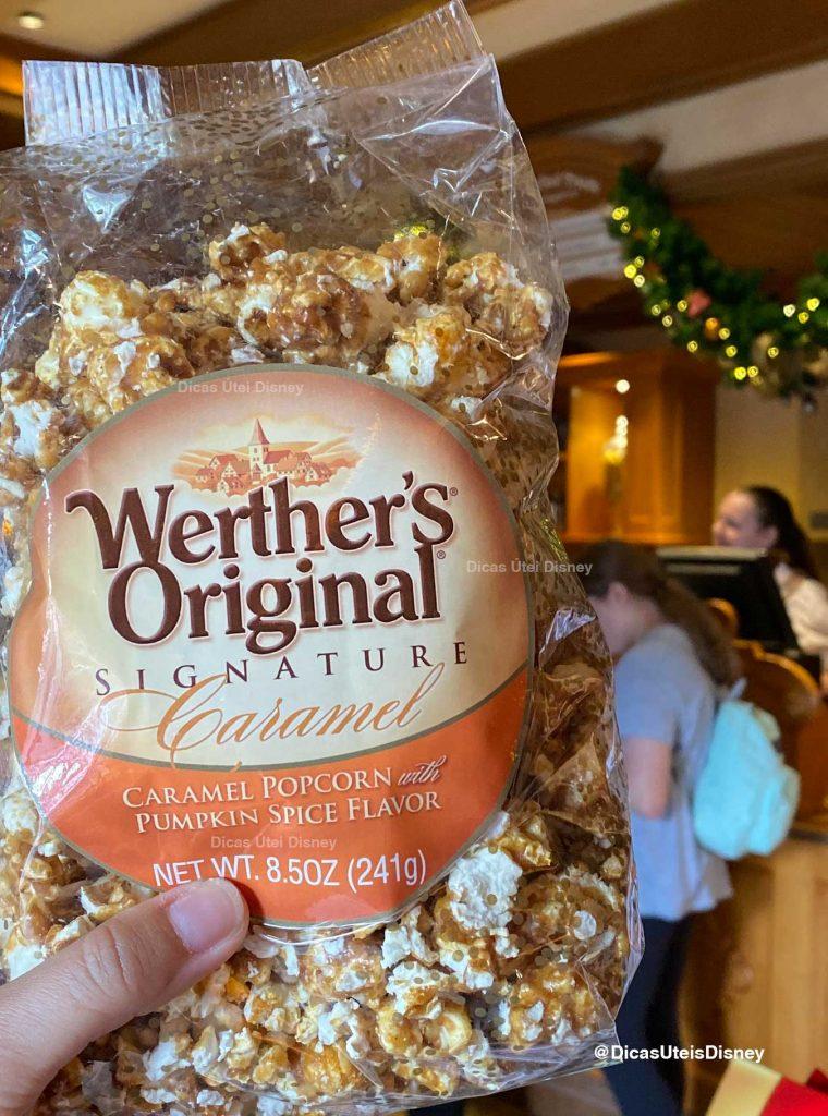 World Showcase Epcot loja caramelo alemanha