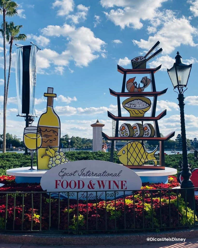 orlando outubro epcot food and wine parque epcot